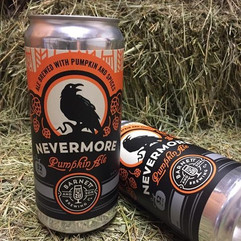#Nevermore Pumpkin Ale now in 32oz cans.