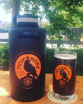 Our Nevermore Growlers are in! Pumpkin A