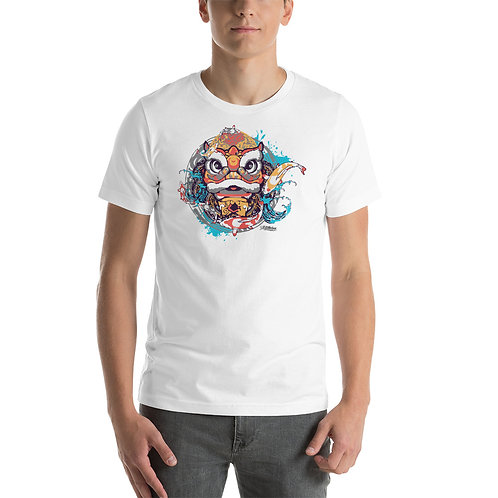 Chinese Lion Short-Sleeve Unisex T-Shirt