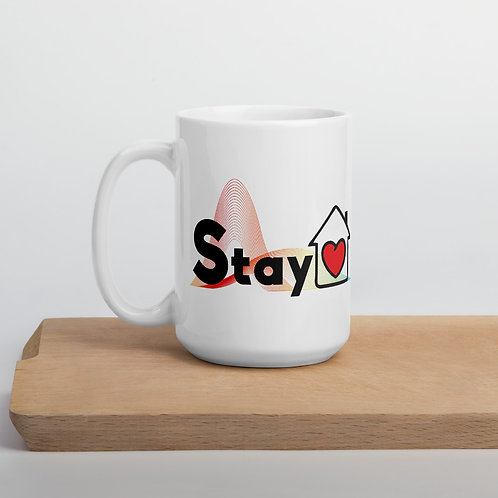 Stay home flatten the curve Mug