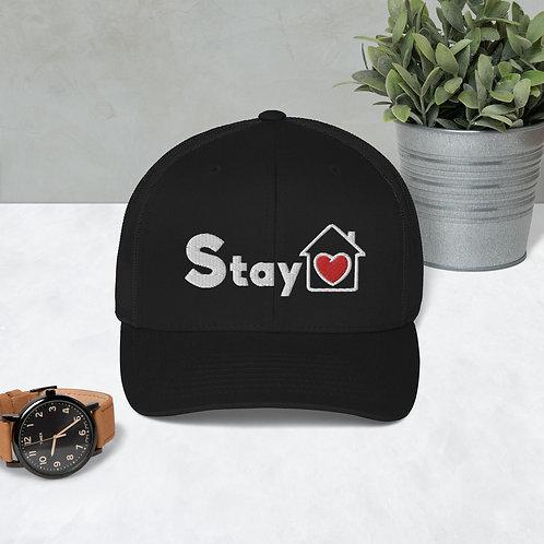 Stay Home - EMB Trucker Cap