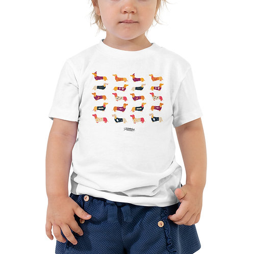 puppy Toddler Short Sleeve Tee