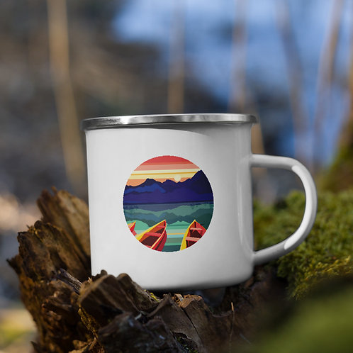Sunset - Enamel Mug