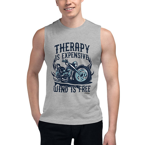 Motorcycle Graphic Muscle Shirt
