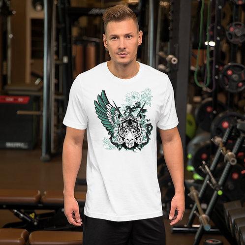 Tiger Graphic Short-Sleeve Unisex T-Shirt