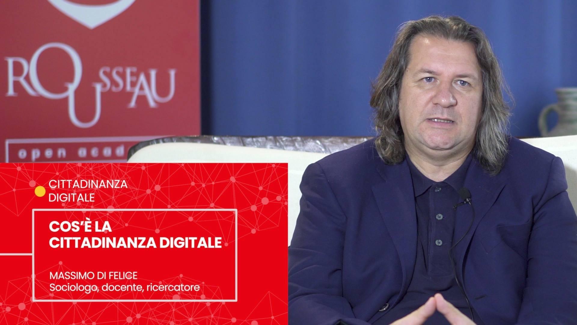 Massimo Di Felice - CHE COS'E' LA CITTADINANZA DIGITALE