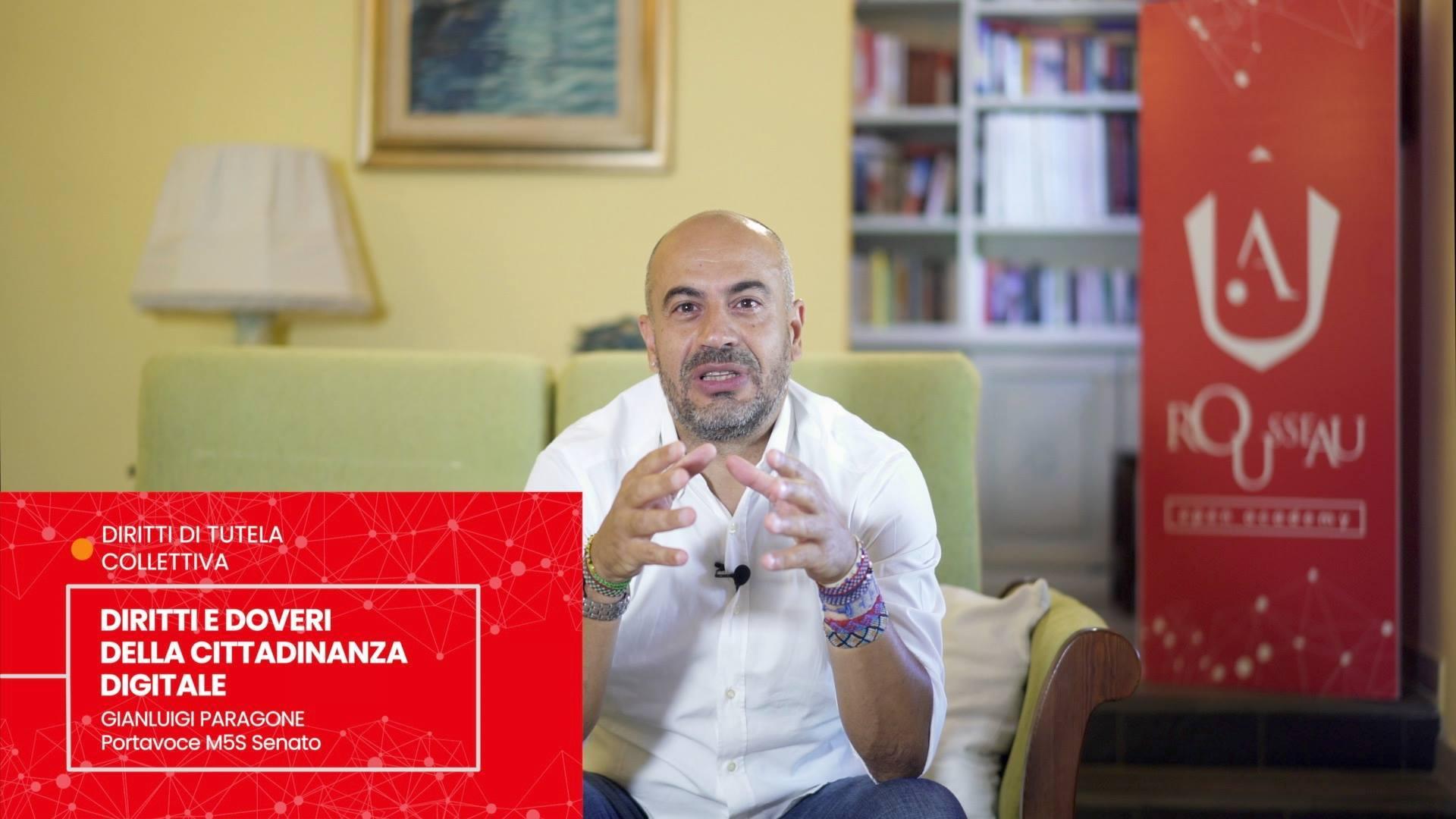 Gianluigi Paragone - DIRITTI E DOVERI DELLA CITTADINANZA DIGITALE