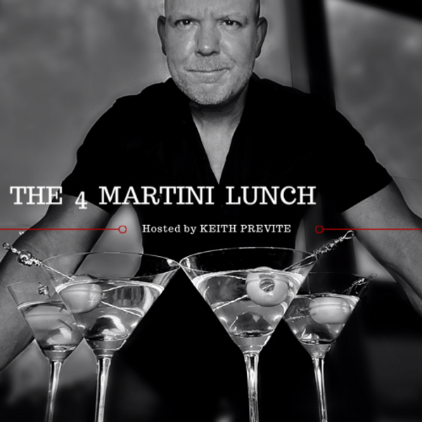 The 4 martini lunch logo