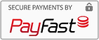 This Website has a trusted and secure payment processing service by Payfast South Africa