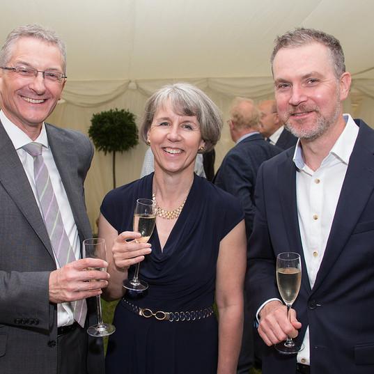 Stuart Brown, Tracy Aarons, Ian Bowen, M