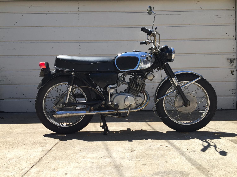 1965 Honda Cb160 Hawk