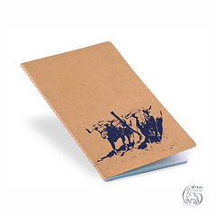 "Notebook ""Junta"" Blue Logo"