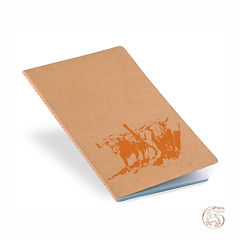 "Notebook ""Junta"" Orange Logo"