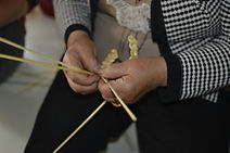 Workshop for the manufacture of straw hats