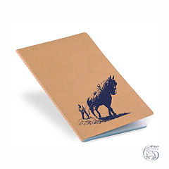 "Notebook ""Lavrar"" Blue Logo"
