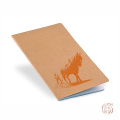 "Notebook ""Lavrar"" Orange Logo"