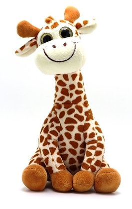 Giraffe Stuffed Animal Front View