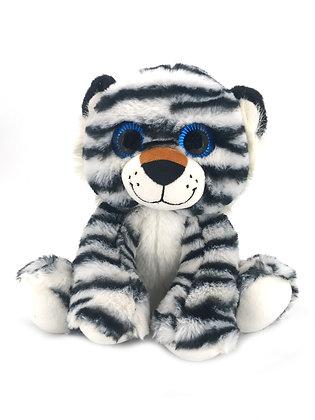 White Tiger Plush Animal - Pebble Palz