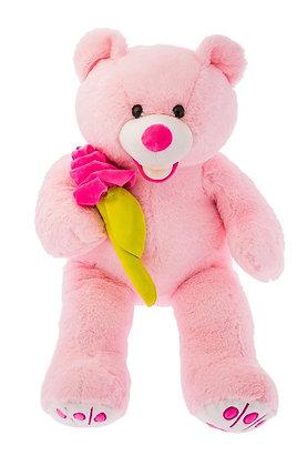 Dimpy Stuff Teddy Bear with Rose Flower