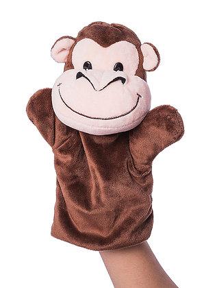 Dimpy Stuff Monkey Hand Puppet
