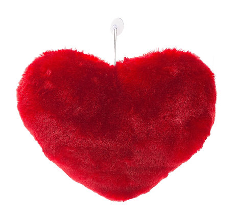 Dimpy Stuff Red Heart Hanging Front