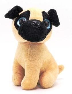 Pug Plush Dog - Pebble Palz