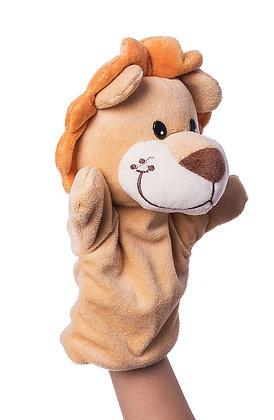 Dimpy Stuff Lion Hand Puppet
