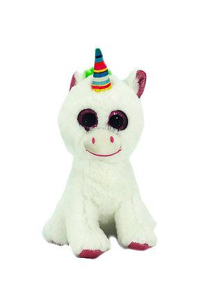 White Unicorn Horse Stuffed Animal