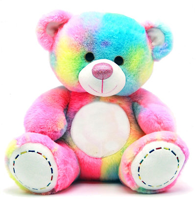 Dimpy Stuff Rainbow Teddy Bear
