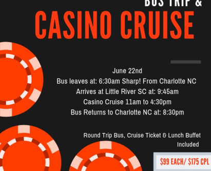 Luxury Bus and Casino Cruise Trip
