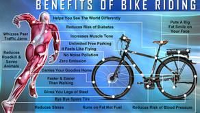 Did you know there were benefits to Bike Riding?