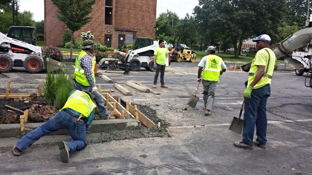 Asphalt Paving & Concrete Curbs