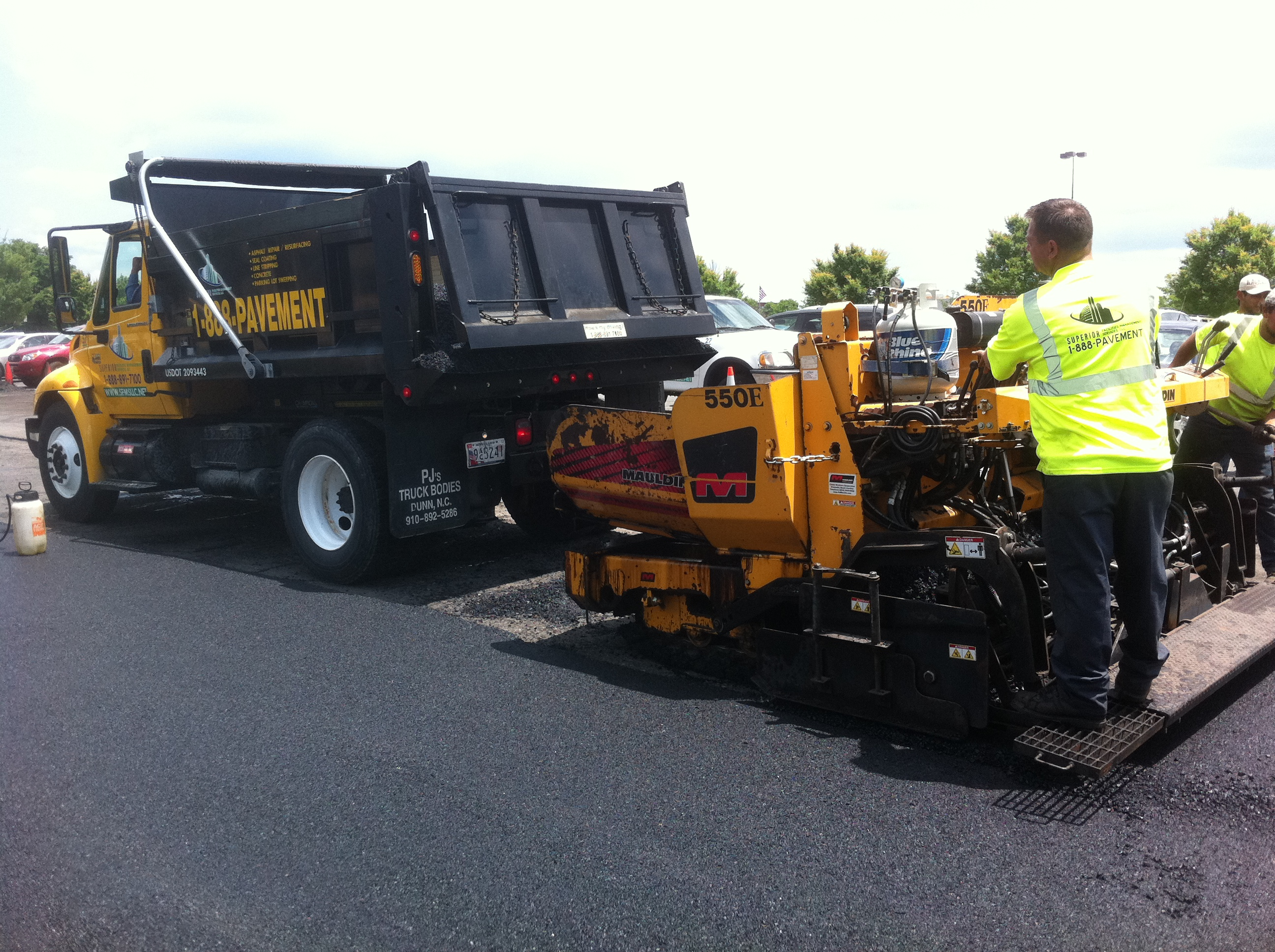 Asphalt Paving Project