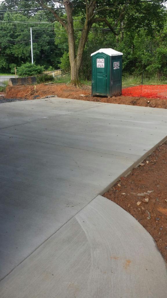 Concrete Pads-Driveway