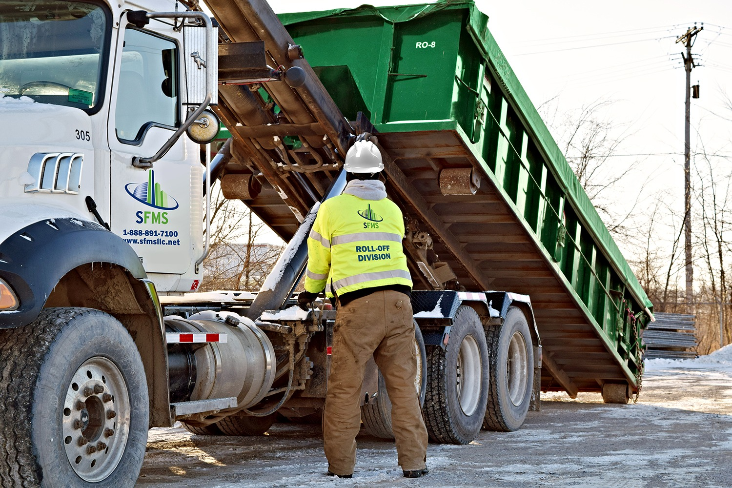 Roll-Off Dumpster Rental Services