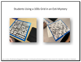 Students Using a 100s Grid in an Esti-Mystery