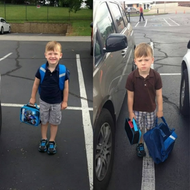 The First and Second Day of Kindergarten