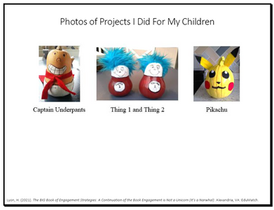 Photos of Projects I Did For My Children