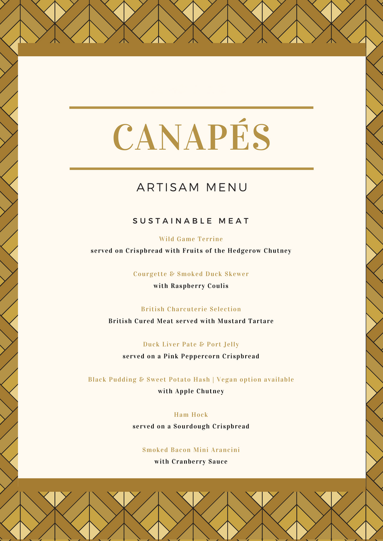Canapes - Free Range Meat