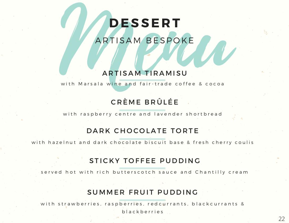 Fairytale Desserts