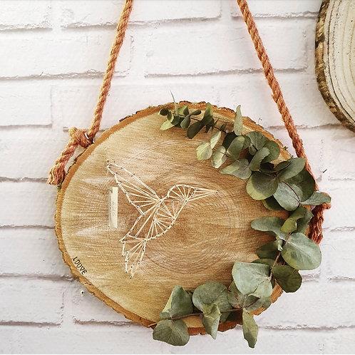 Rondin colibri corde