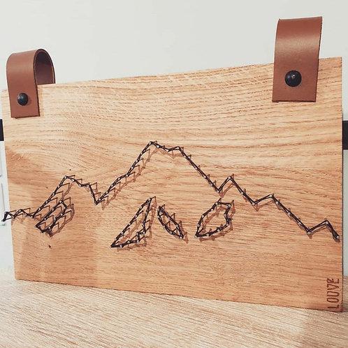 Montagnes cuir