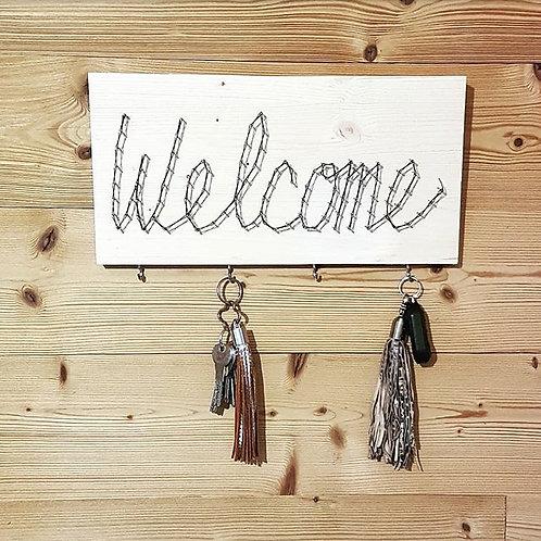 Welcome porte clés