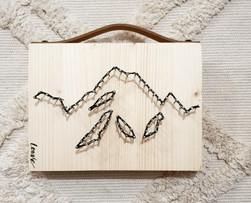 Montagnes à poser