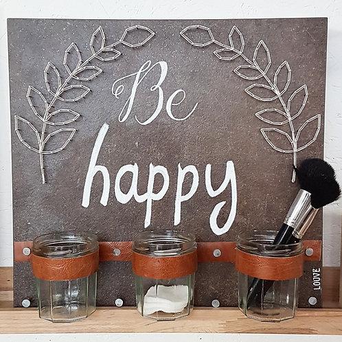 Be Happy - 3 pots