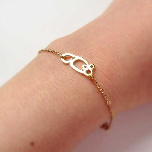 MOUSE in Arabic bracelet