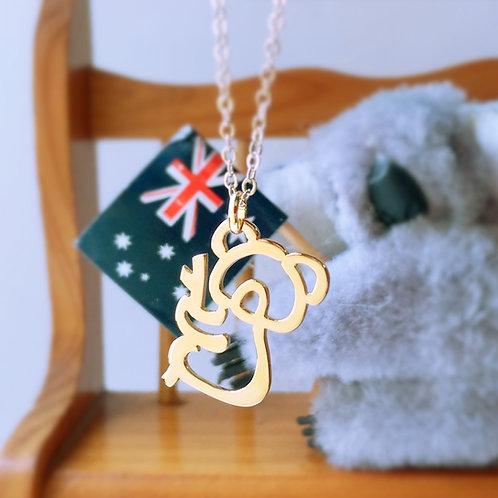 KOALA in Arabic pendant
