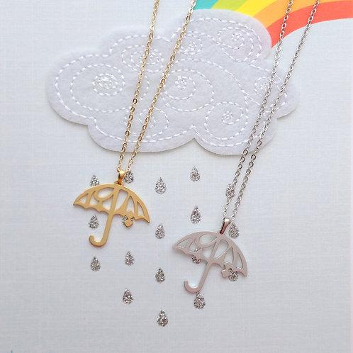 UMBRELLA in Arabic pendant