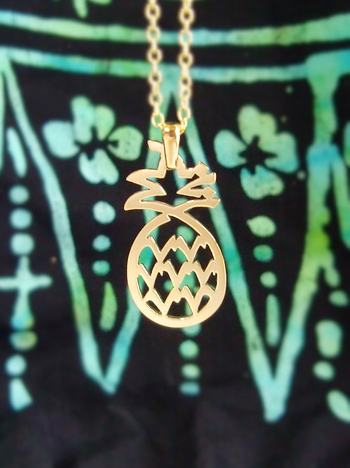 PINEAPPLE in Arabic pendant