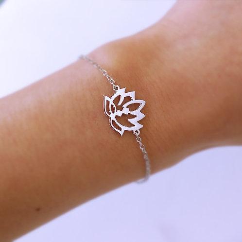 LOTUS in Arabic bracelet